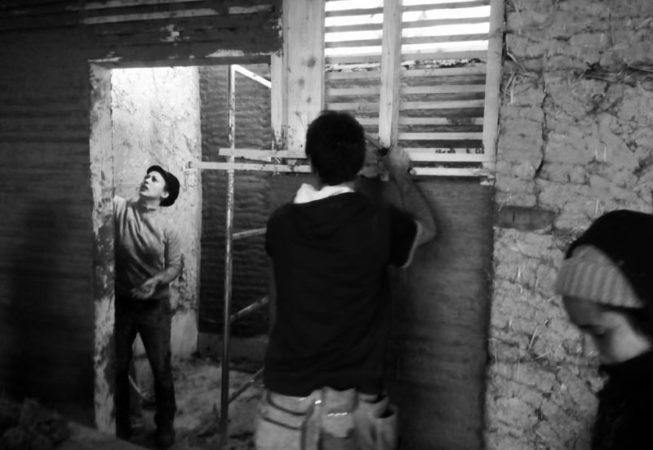 2017 février chantier participatif torchis40