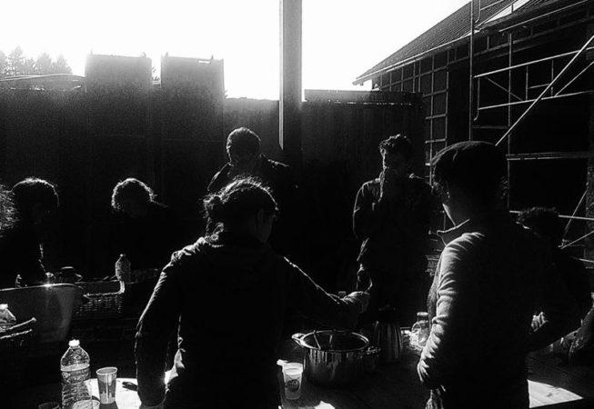 2017 février chantier participatif torchis42