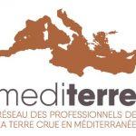 logo mediterre le réseau des professionnels de la terre crue en méditerannée