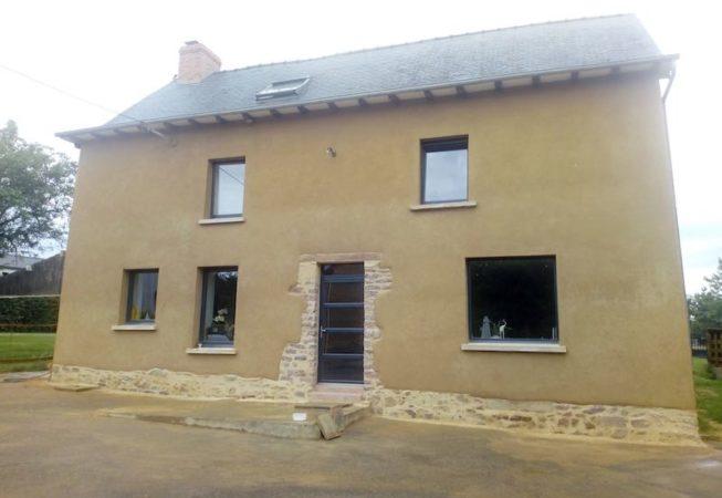 ravalement maison en terre St Gilles EIRL Terre Crue Maetz Ghislain